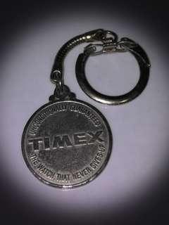 vintage 1969 timex watch keychain