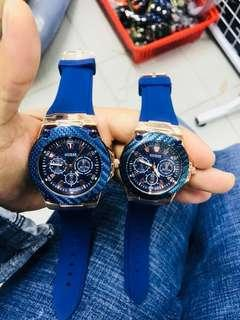 Guess Couple Watch - Blue #SBUX50 #SINGLES1111 #UNDER90