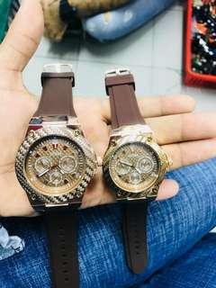 Guess Couple Watches - Brown #SBUX50 #singles1111 #under90