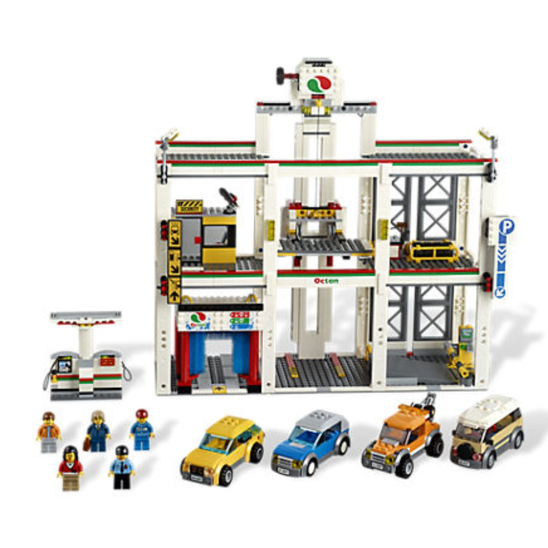 65 Lego 4207 Lego City Garage Toys Games Bricks Figurines On