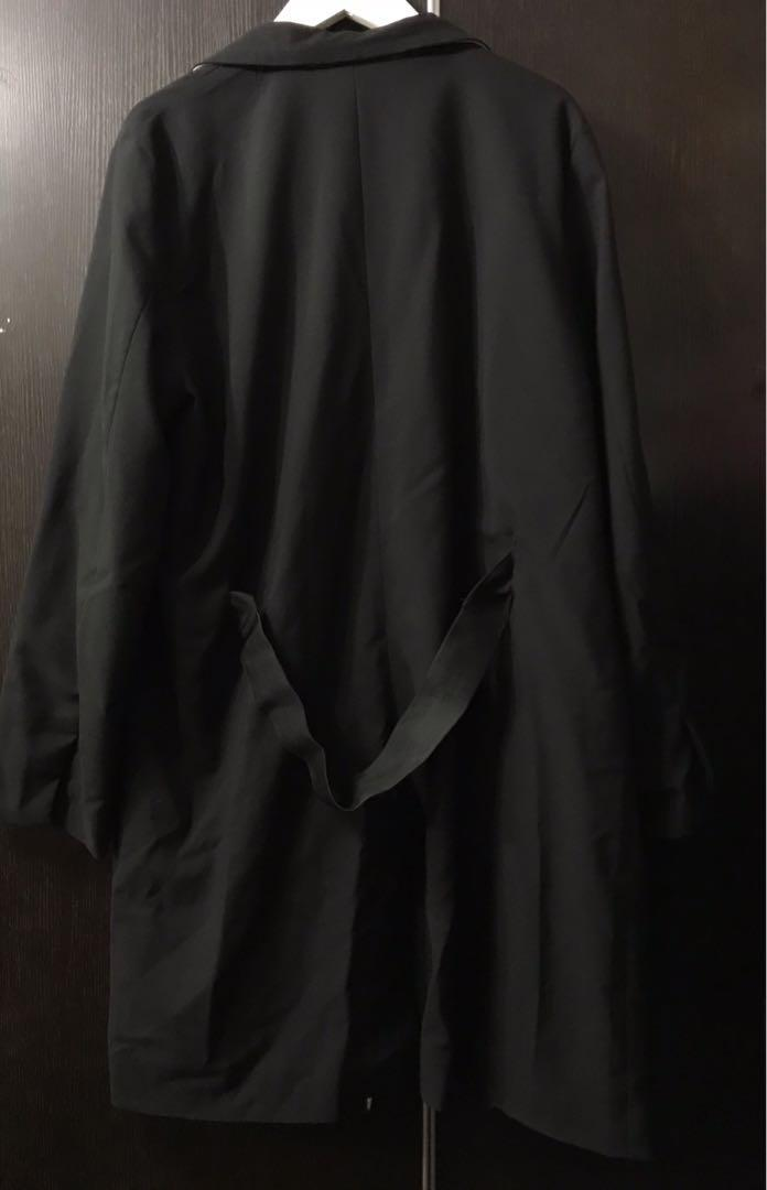 女裝 長身 闊身 黑色外套