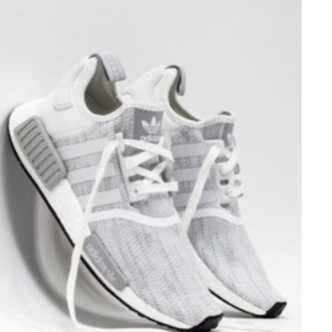 Adidas NMD R1 Black Charcoal Grey White Ultra Boost S31504