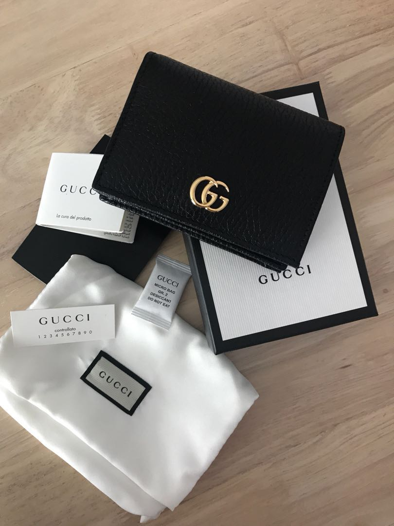 1f08c4fea9b9 💯 Authentic gucci gg marmont short wallet for let go!!, Luxury, Bags &  Wallets on Carousell