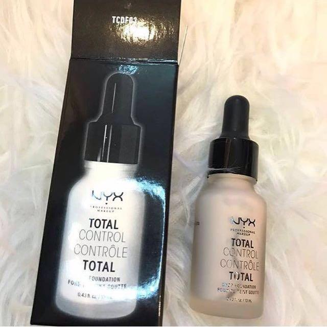 💯 authentic total control drop Nyx foundation