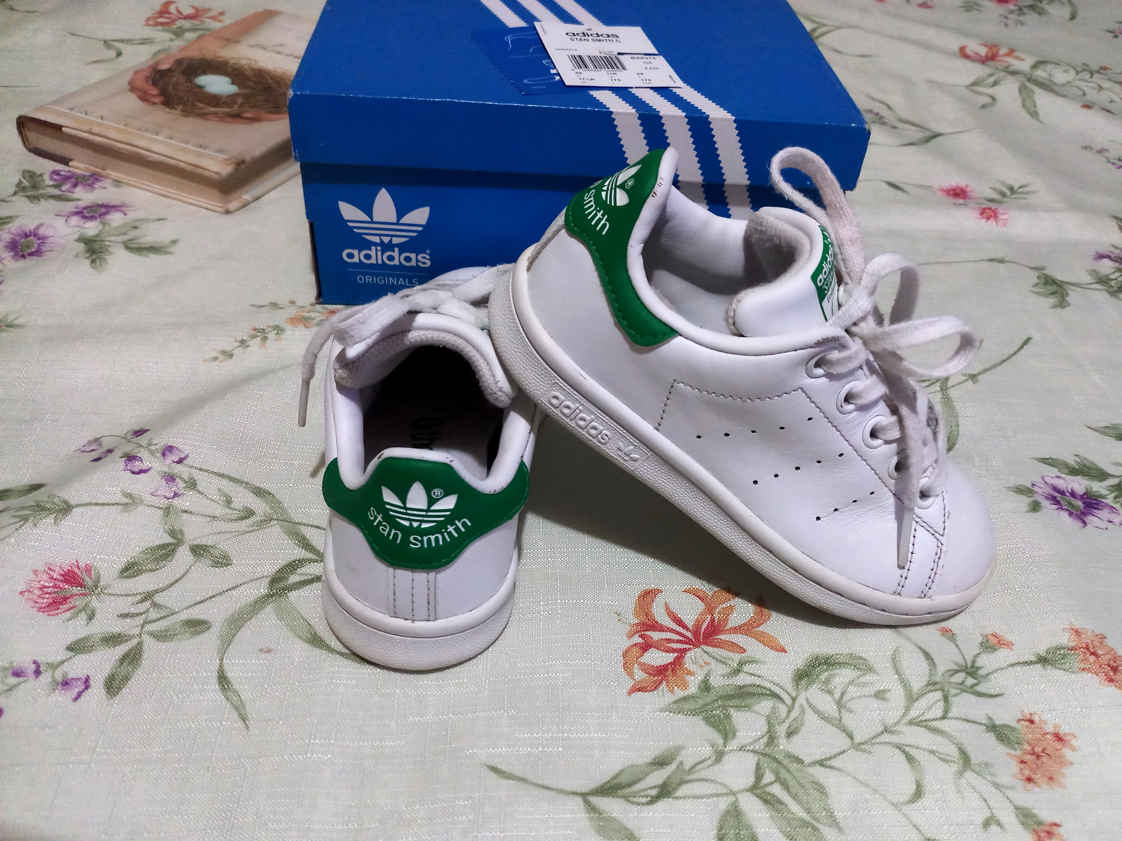 ADIDAS Stan Smith C  FOR KIDS  101% Authentic   Size US 11.5K  3-6yrs. Old 94e16d644
