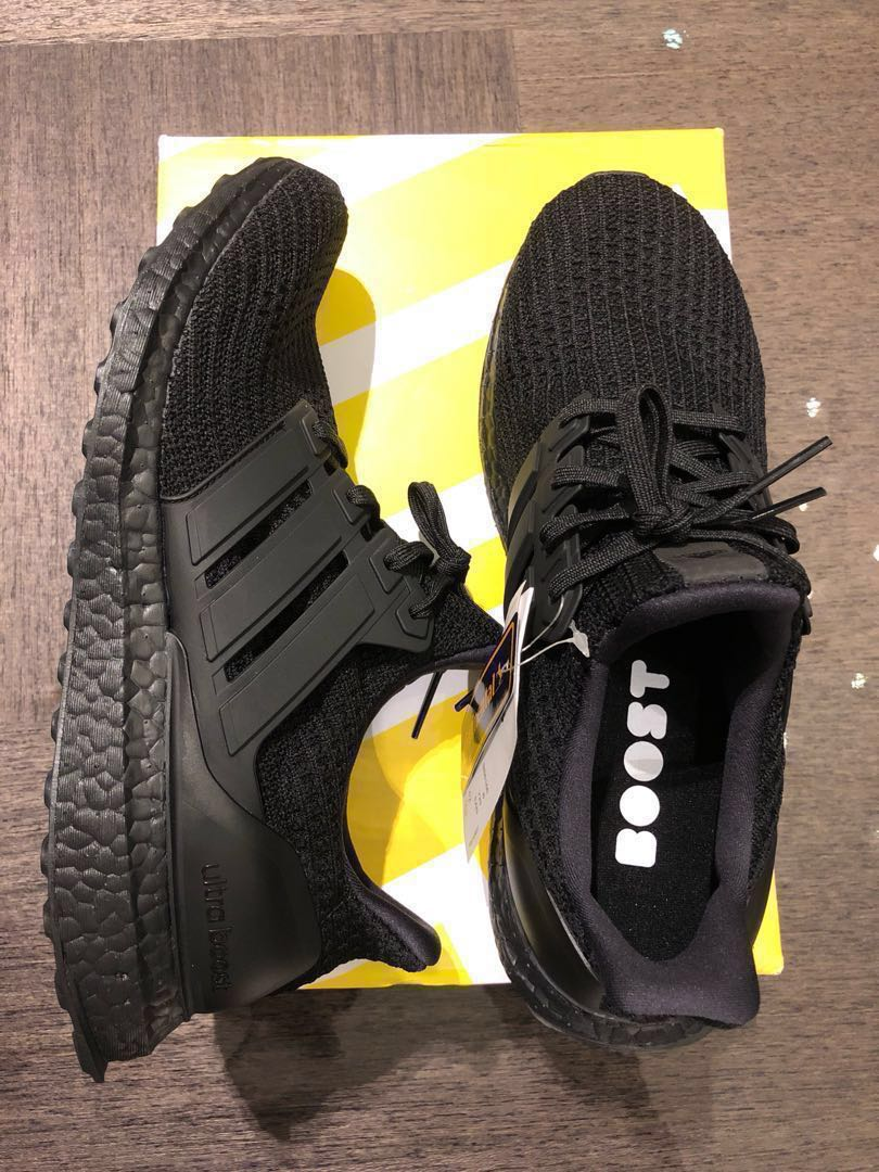 054264faf4fed Adidas Ultra Boost Caged - Custom Ultraboost Triple Black