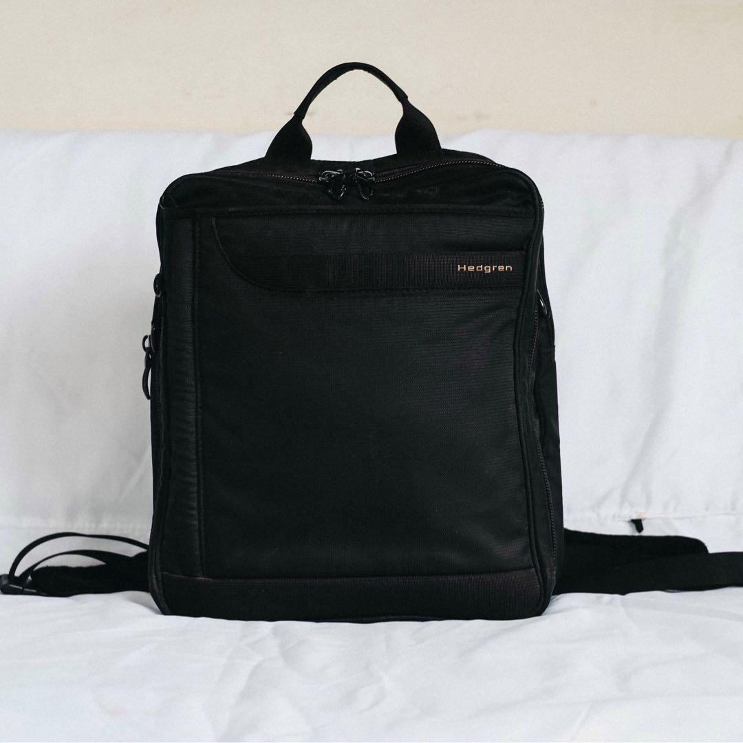 0159df724dc Authentic Hedgren Laptop Backpack, Men's Fashion, Bags & Wallets ...