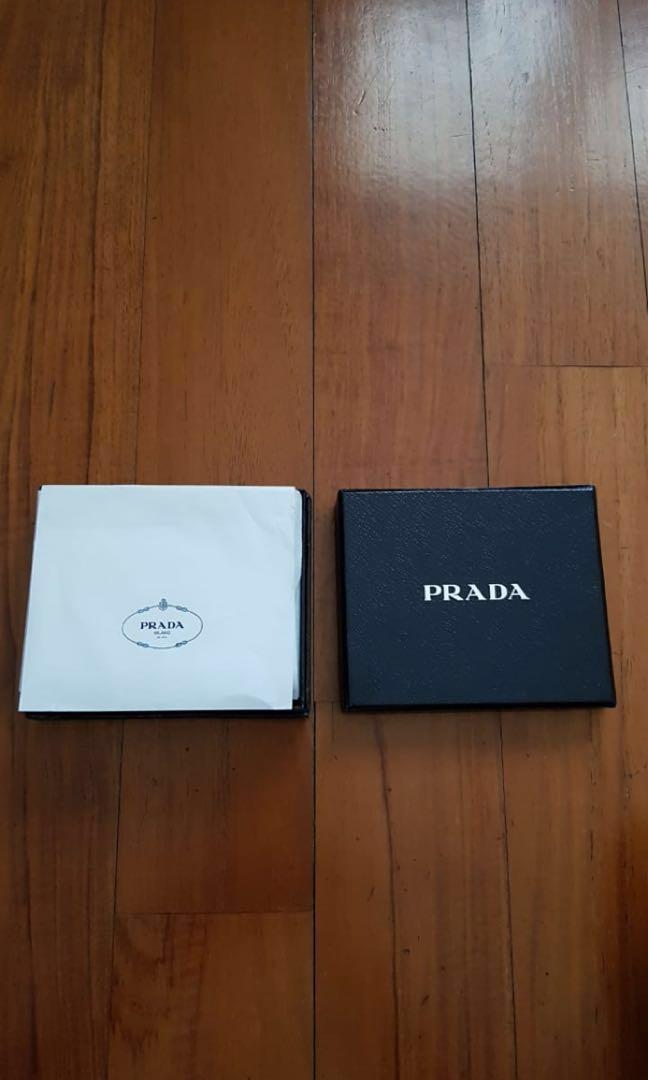 Authentic NEW Prada Men s Wallet   Asli Dompet Laki-laki ea7509bee9