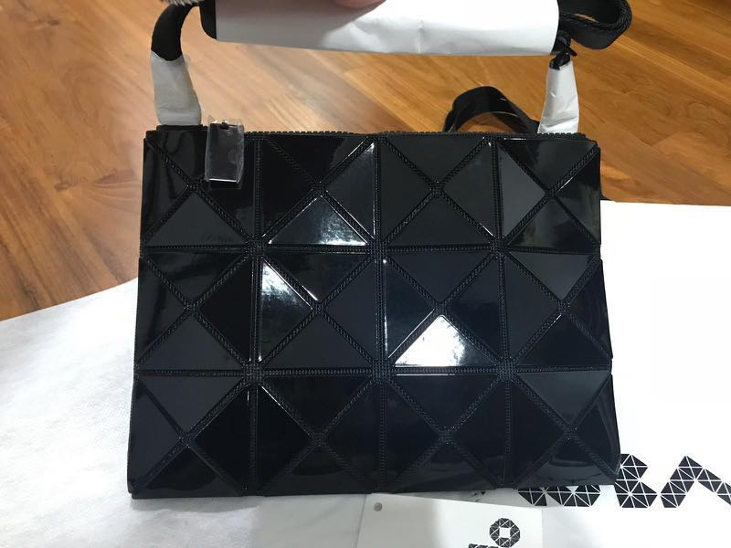 f50a91d0e07bec Brand new BAOBAO Issey Miyake Black crossbody bag, Luxury, Bags & Wallets,  Sling Bags on Carousell