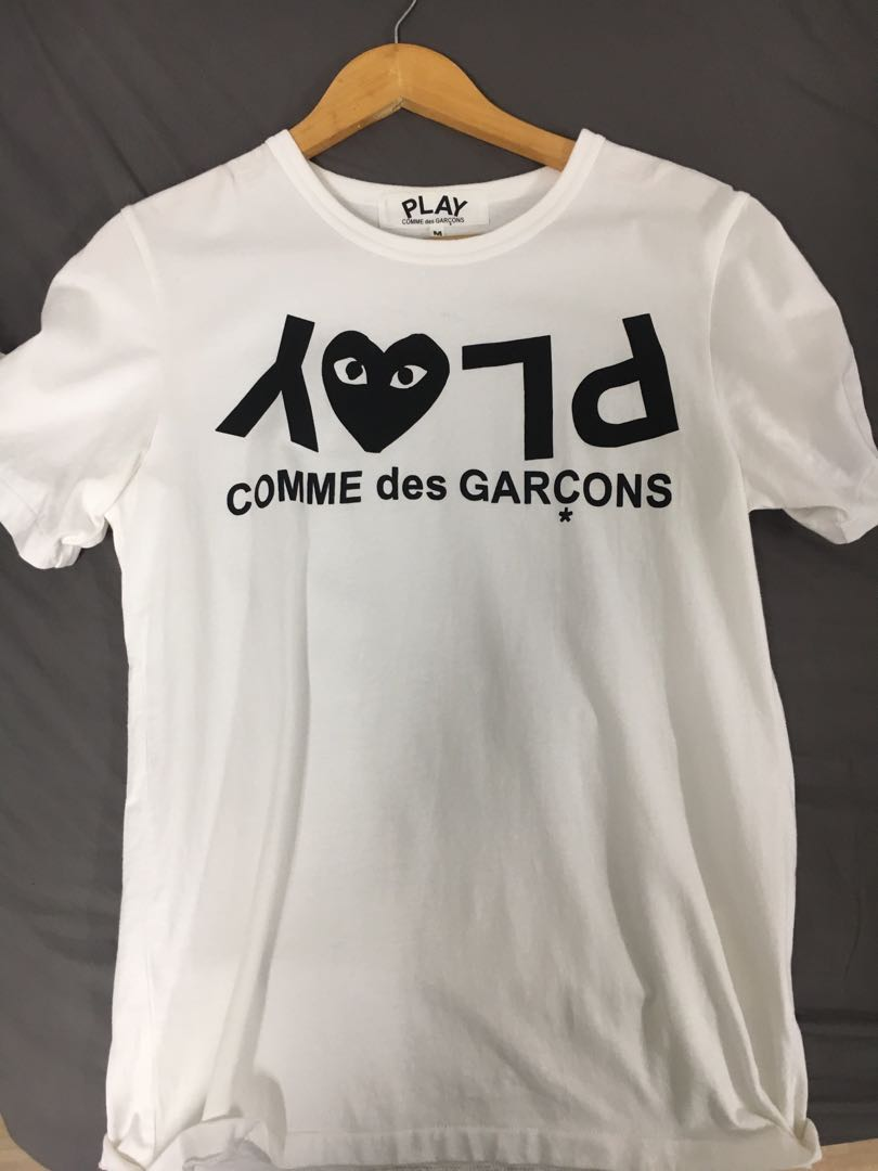 25ef0eb1 cdg play t shirt, Men's Fashion, Clothes, Tops on Carousell