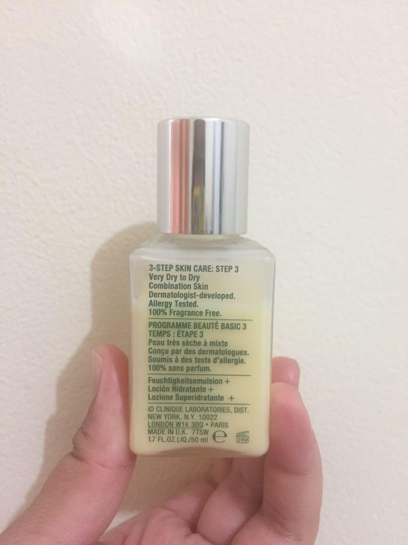 Clinique dramatically different moisturizer