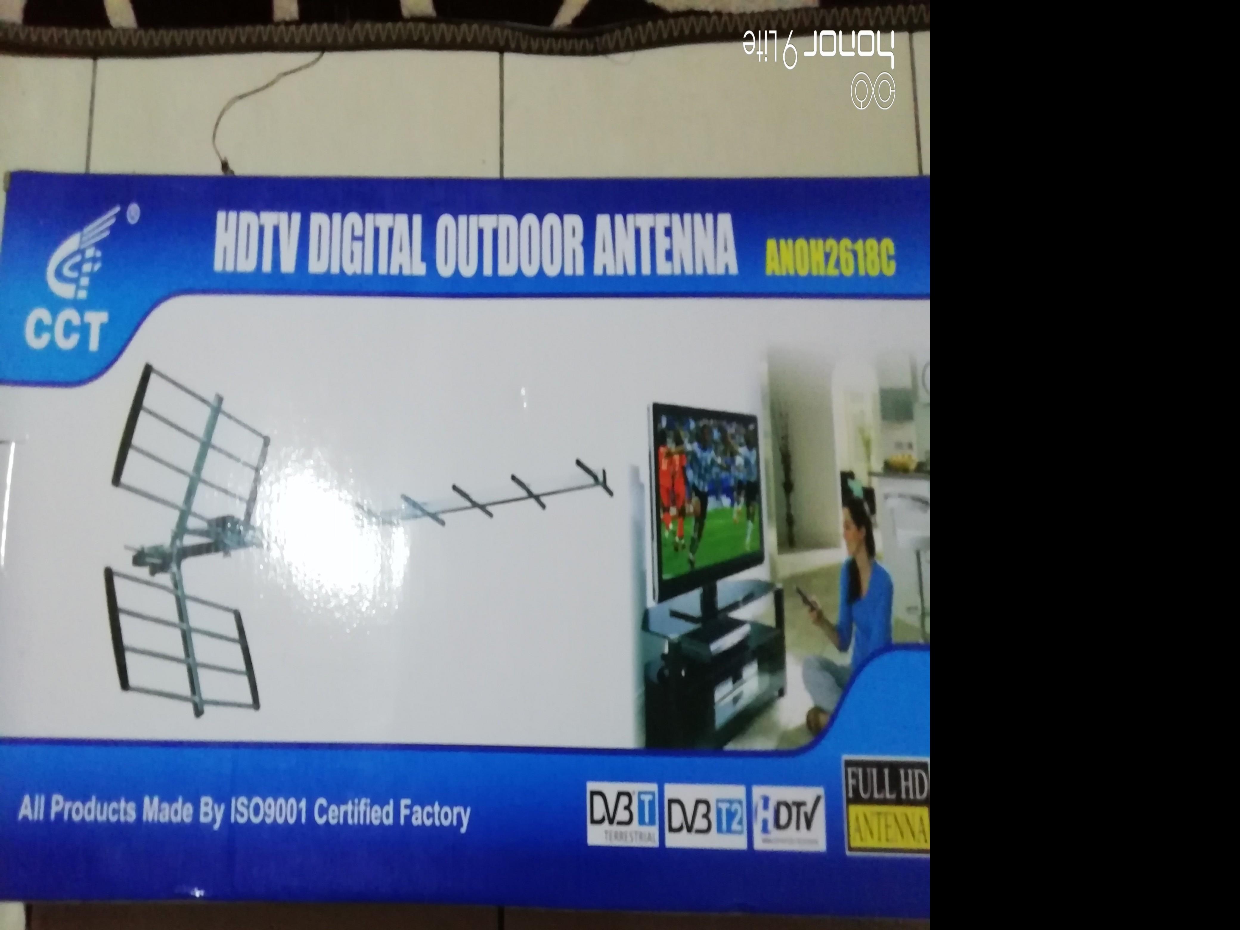 Dekoder Mytv beserta antenna free kabel 12m