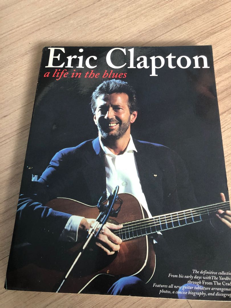 Eric Clapton A Life In The Blues Guitar Tabs