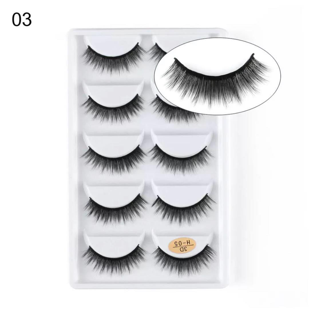 False lashes 5 for $25 that's $5 a pair! Grab yours now!