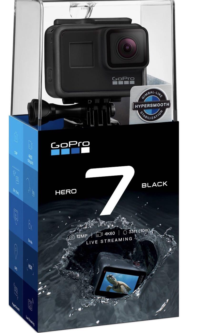 GoPro 7 Black Local Set with Warranty