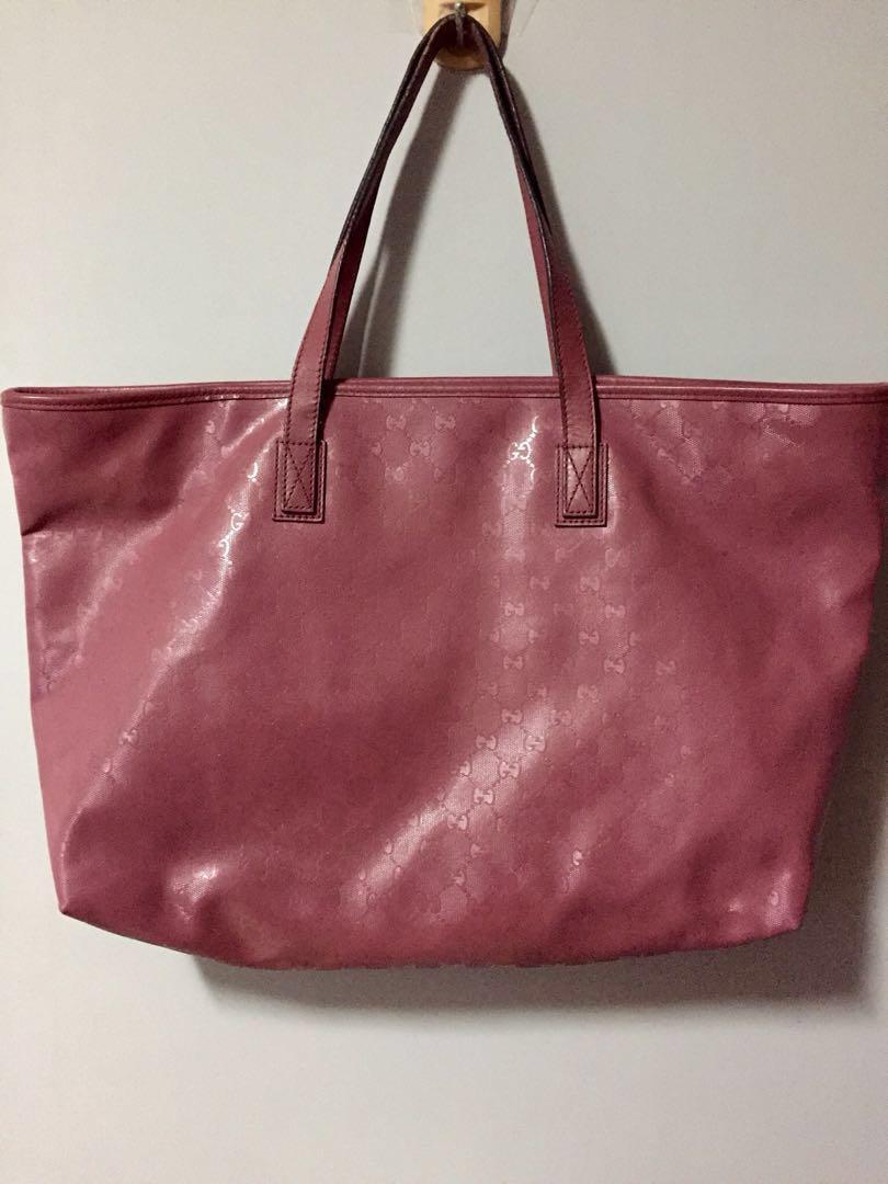 Gucci pale pink handbag