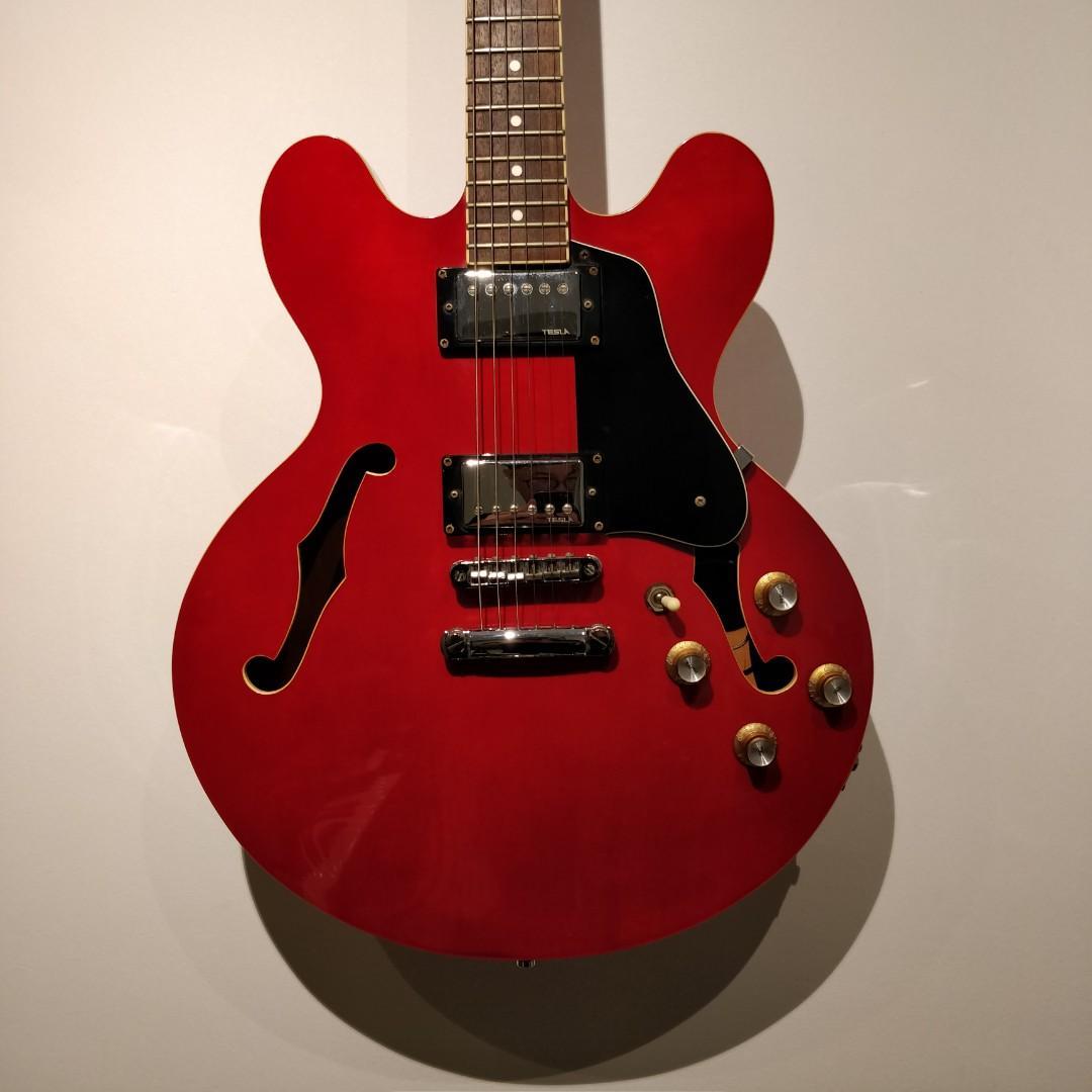 hamer echotone semi hollow electric guitar 335 style price to go music media music. Black Bedroom Furniture Sets. Home Design Ideas