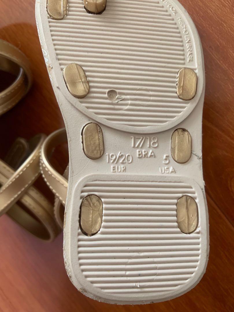 Ipanema toddler sandals size us 5