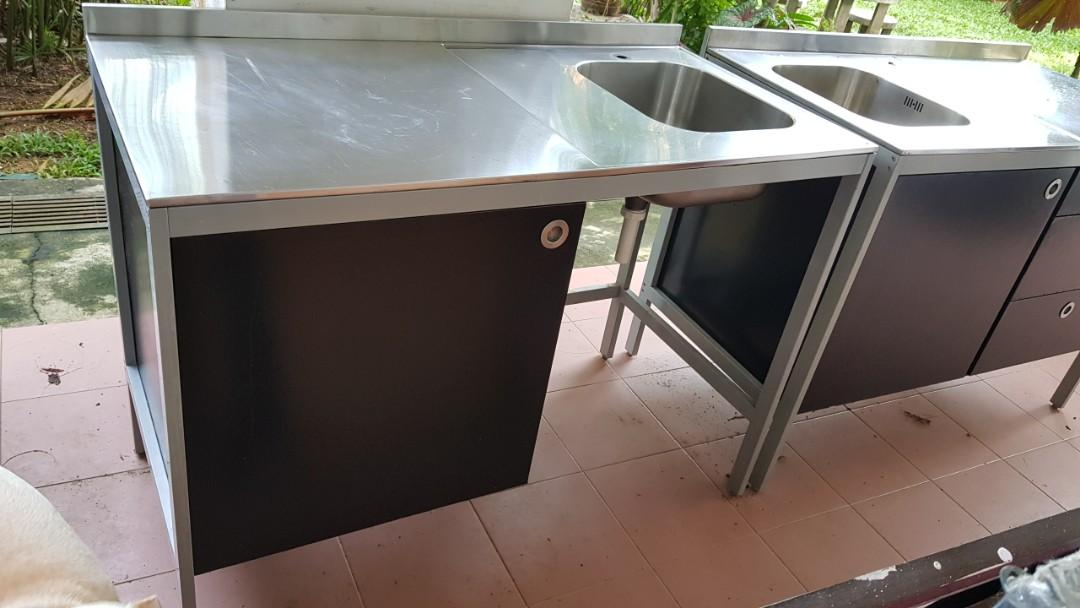 Ikea Udden Black Stainless Steel