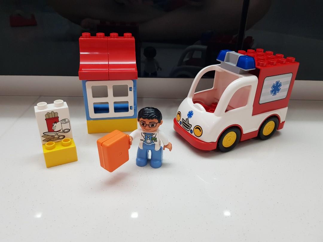Lego Duplo Ambulance 10527 Toys Games Bricks Figurines On