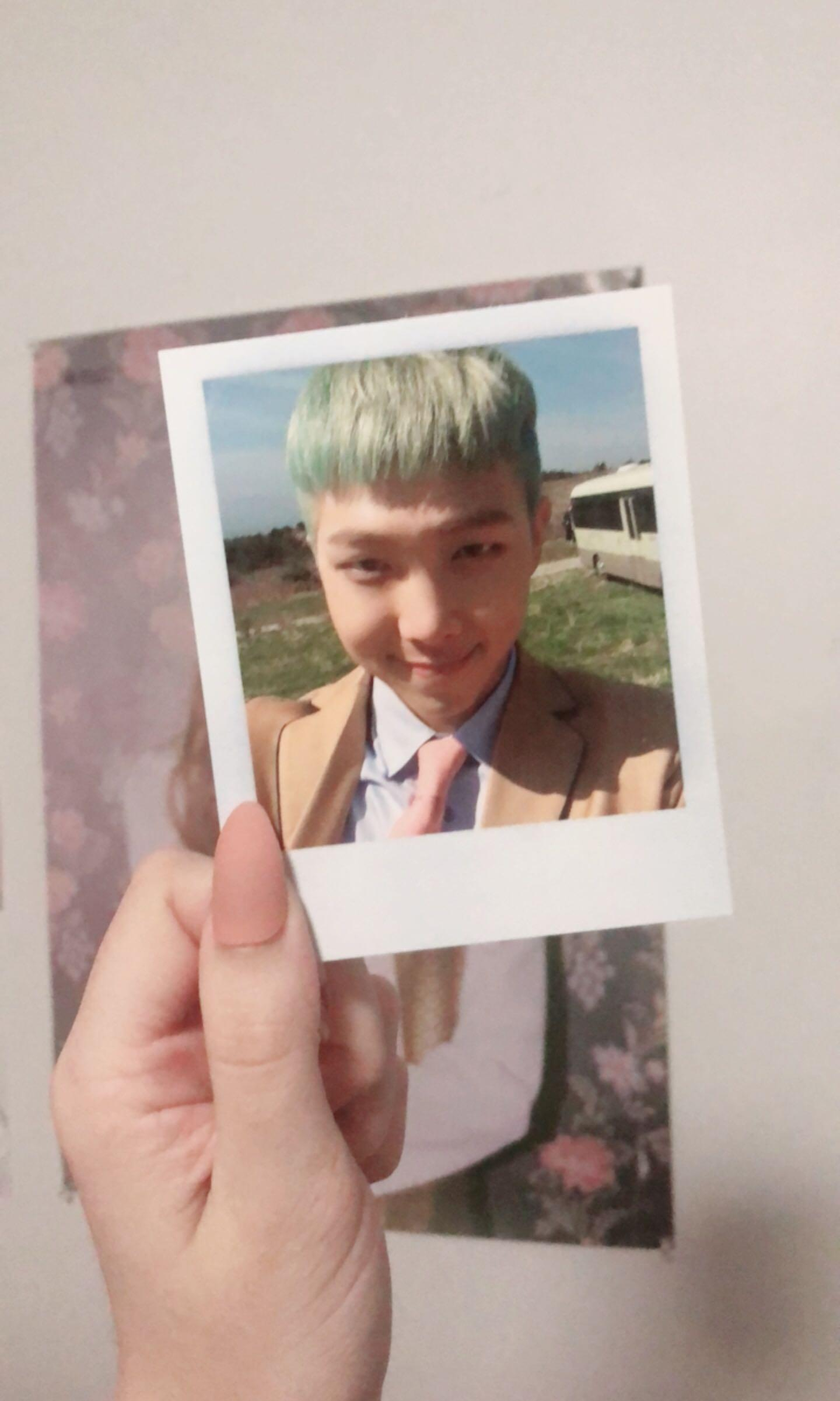 Namjoon Young Forever Photocard