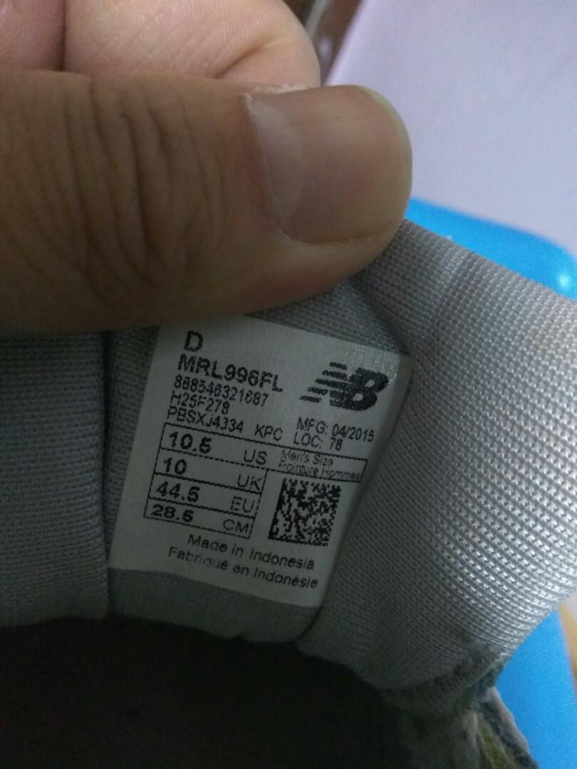New Balance 996 EU44.5