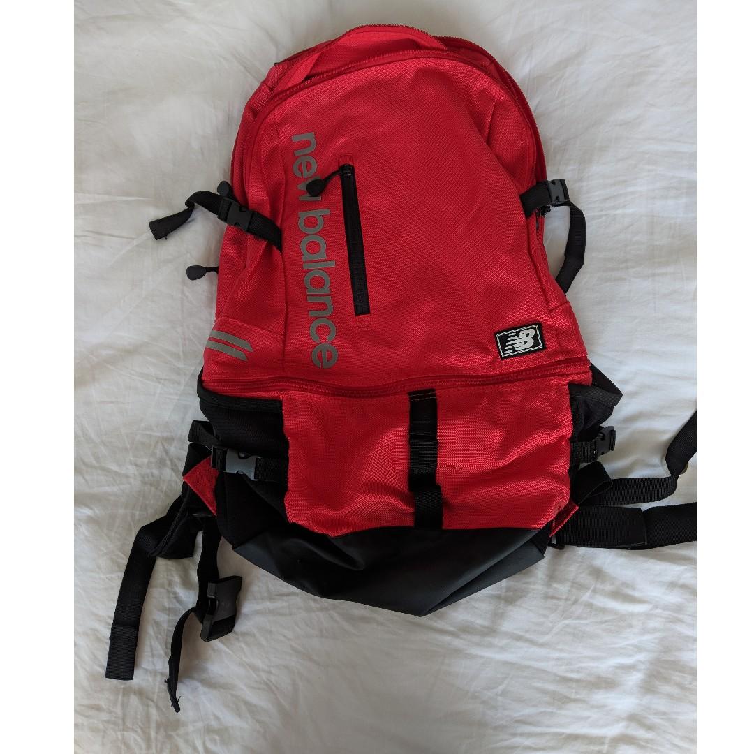 New Balance Commuter Laptop Running Backpack - Red 0d658de54a5e3