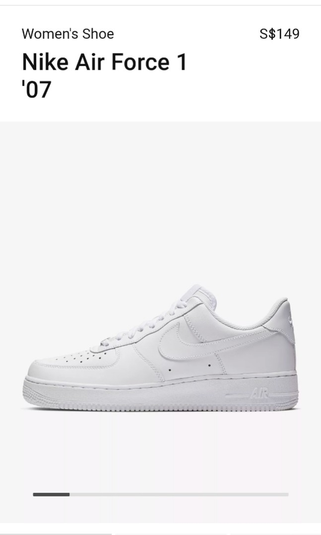 e88971d294 PRICE REDUCED!! Nike Air Force 1 '07 Women's shoe/sneakers