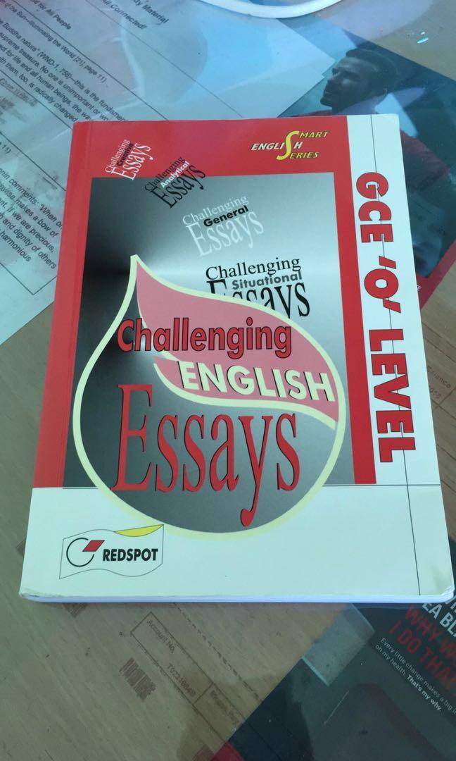 english essay book  gurekubkireklamoweco o level english essay book books stationery textbooks secondary