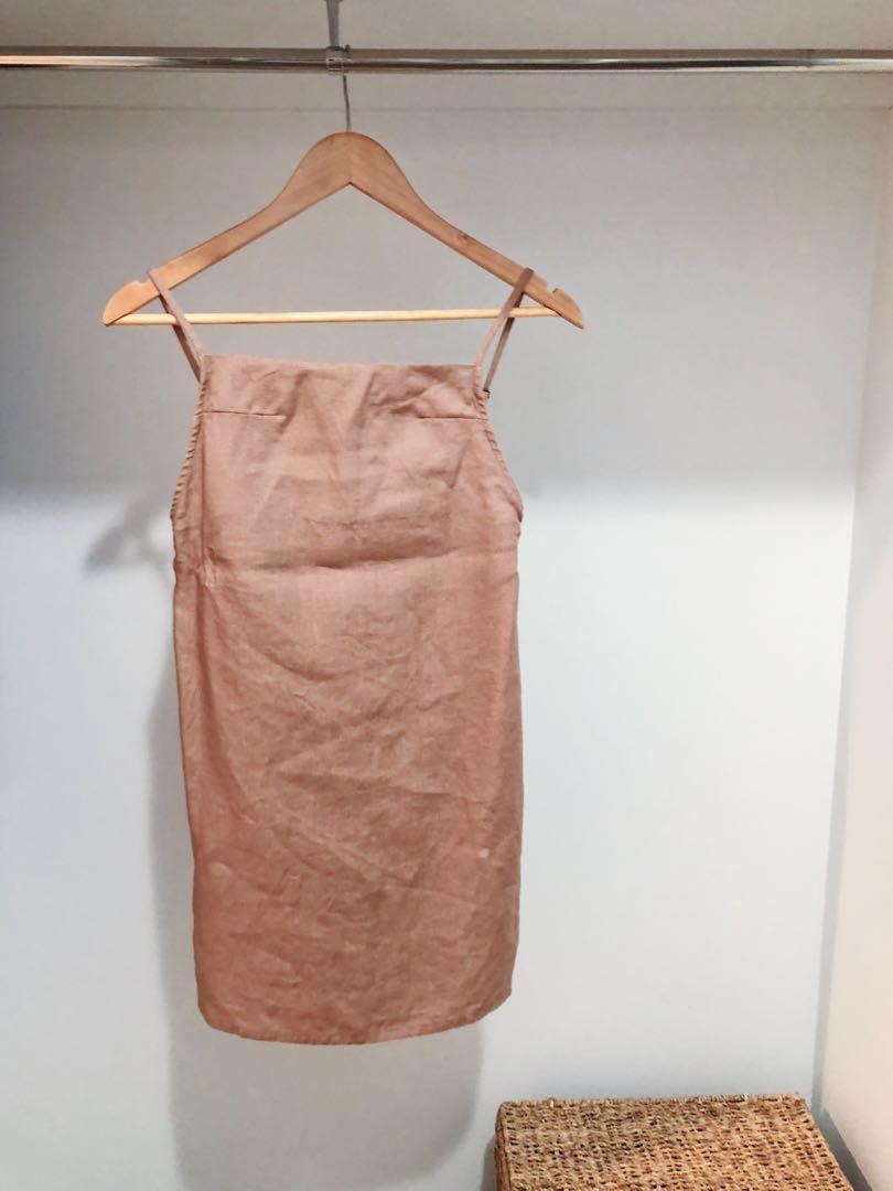 Opia Byron Bay apron/shift dress