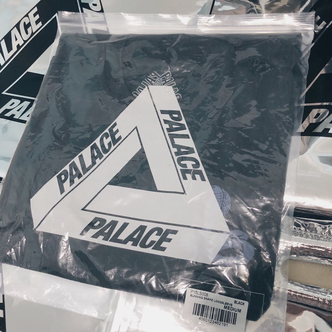 e3049d7e Palace Longsleeve T-Shirt (Running Snake), Men's Fashion, Clothes ...