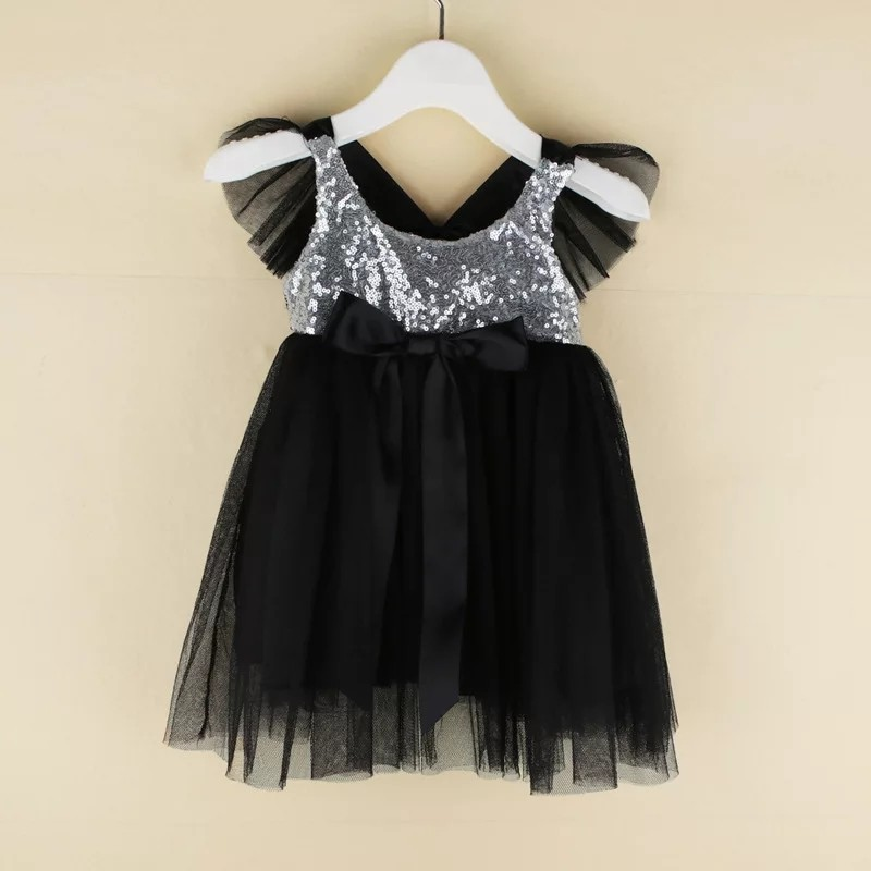 6f736064045f6 PO] Sequin tutu dress baby/toddler girl glitter bling black/red/pink ...