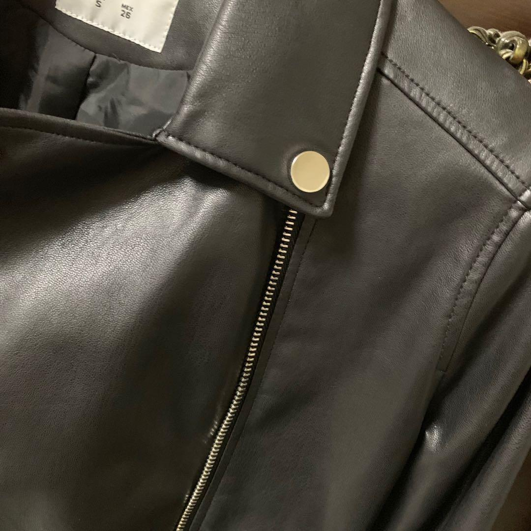PULL&BEAR皮革外套