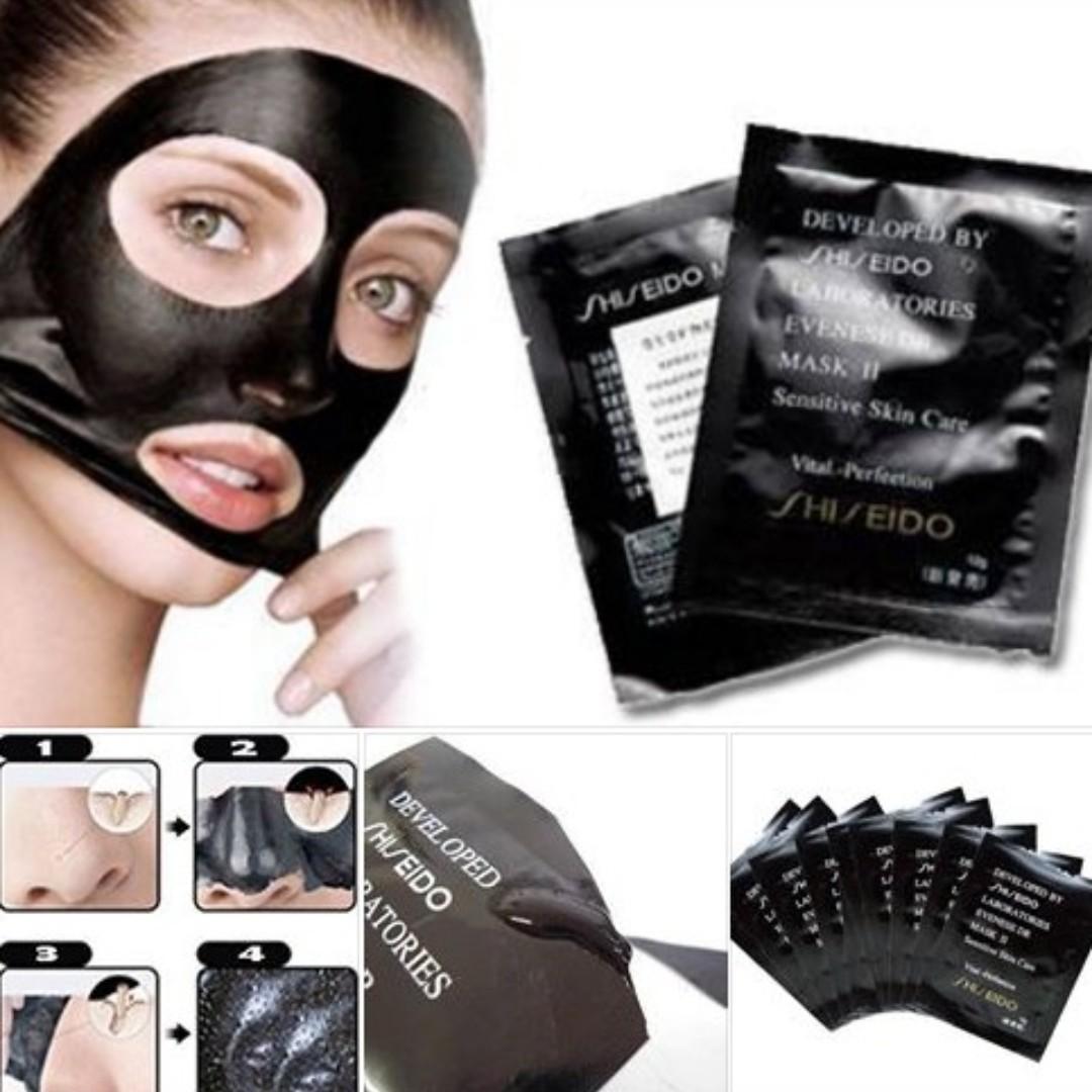 Shiseido blackhead killer mask, Health & Beauty, Face & Skin