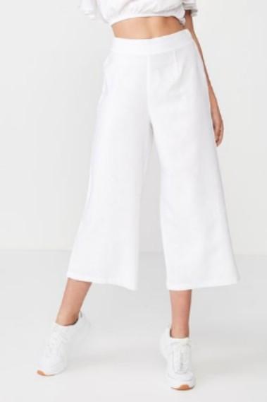 Supre linen wide leg pants sz 6