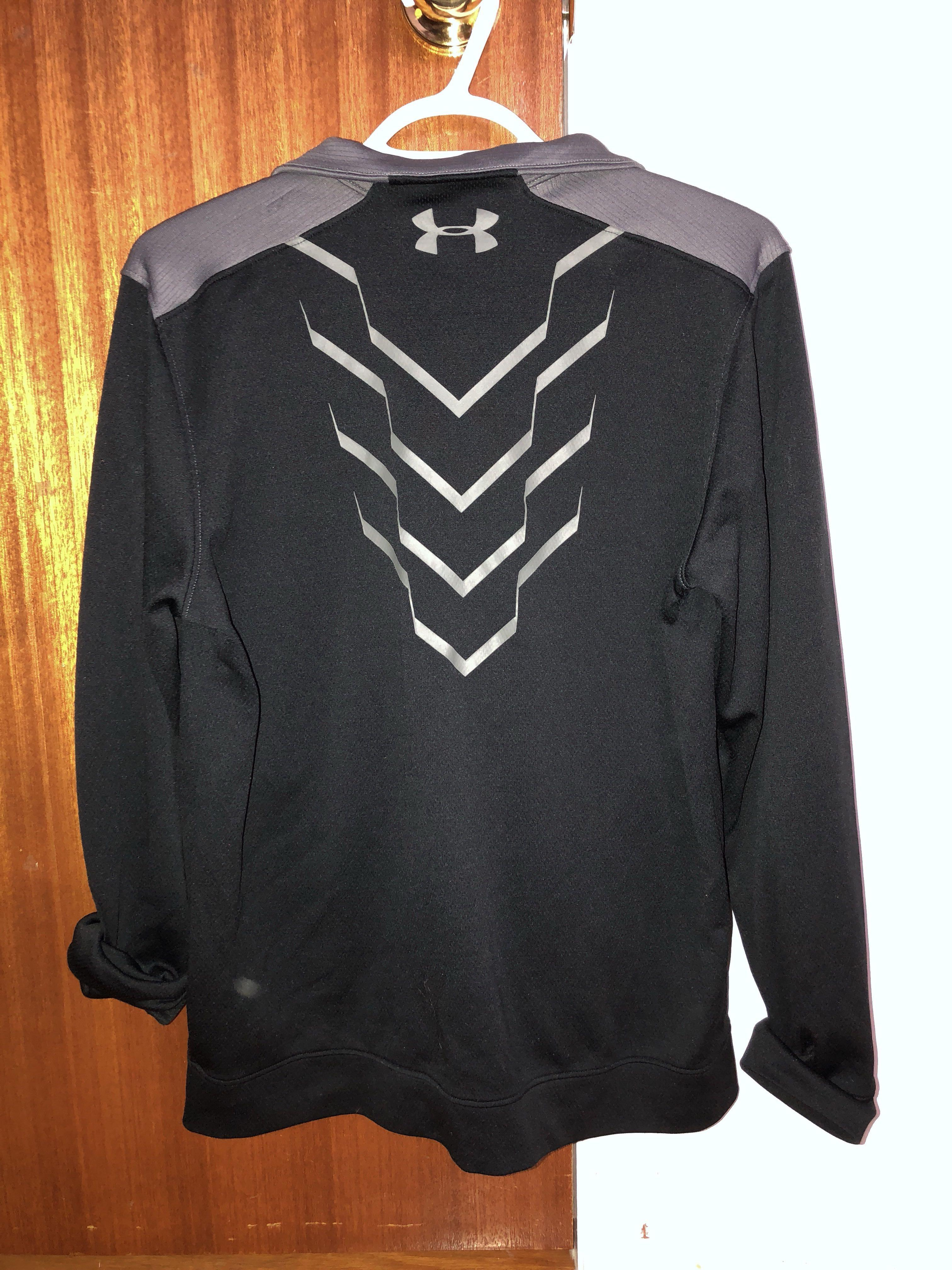 Under armour breathable zip up jacket