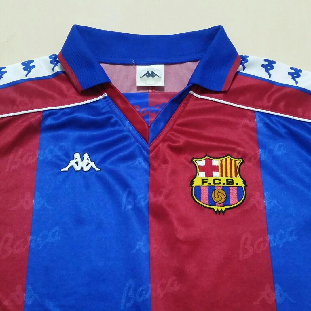 new style 5a02c bda74 Vintage Barcelona 1993 - 1995 Jersey