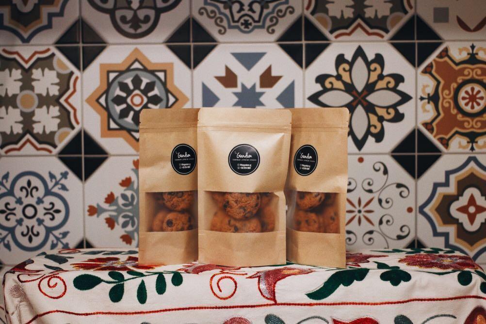 Wedding Favour Berkat Door Gift Homemade Cookies Food