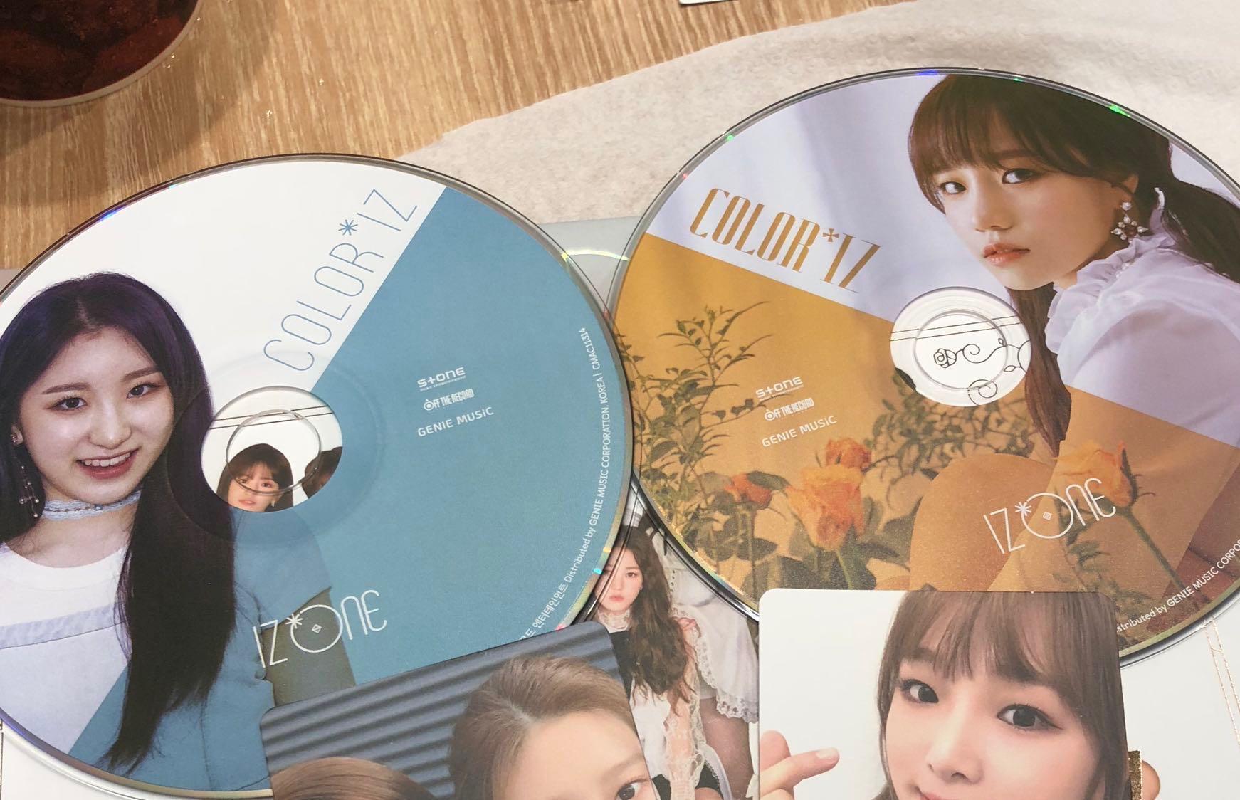 WTT IZONE CDs