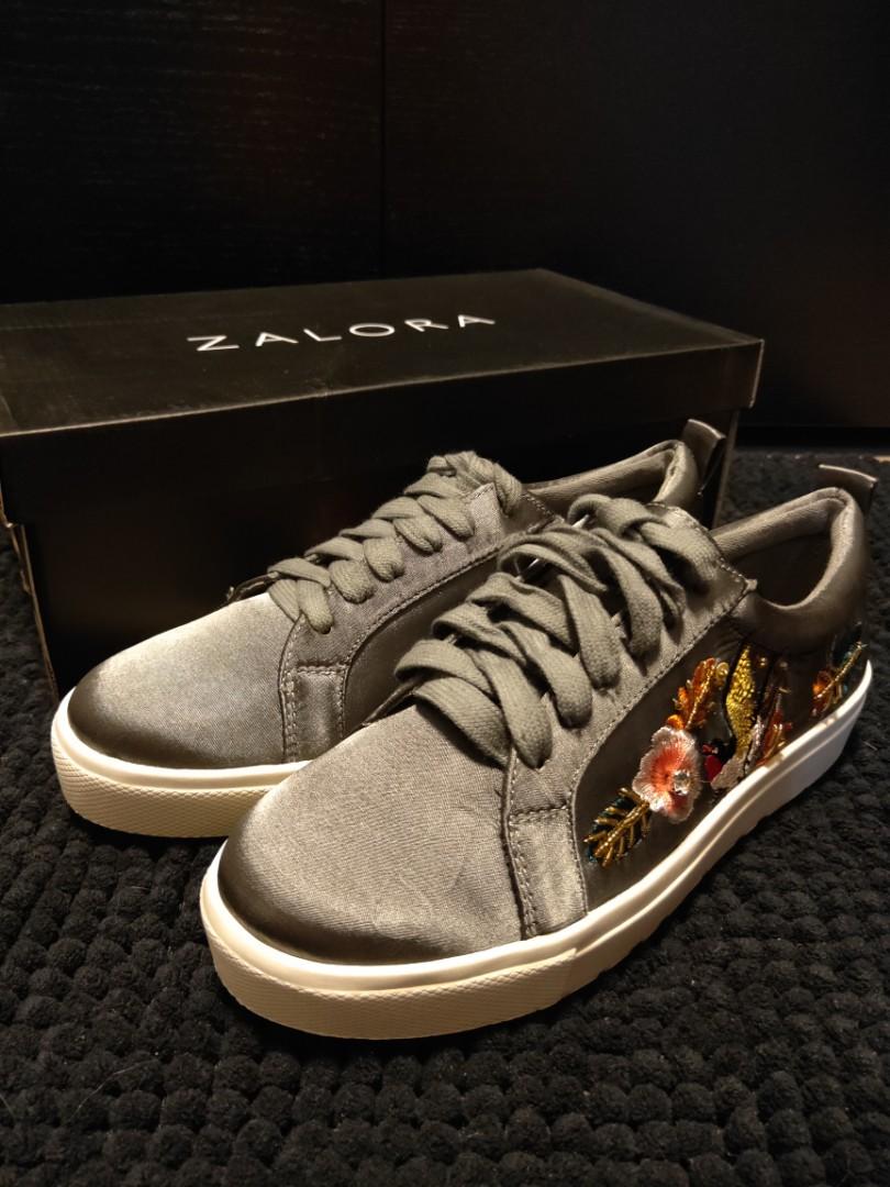 cc100d088bf Zalora Satin Sneakers