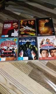 Original overseas dvd movies