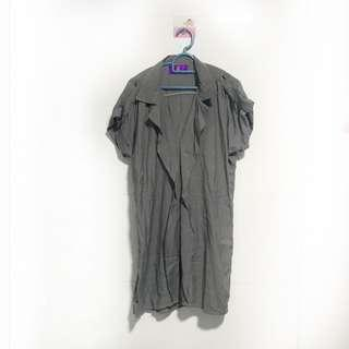🚚 BN Grey Oversized Dress