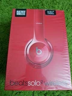 New Original Beats Solo 2 Wireless headphone (Product Red)