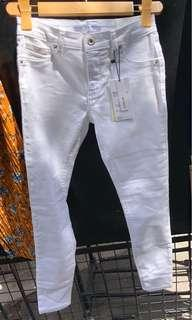 Bershka White Pants