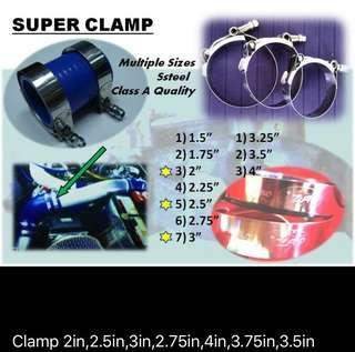 clamp for hose heavy duty