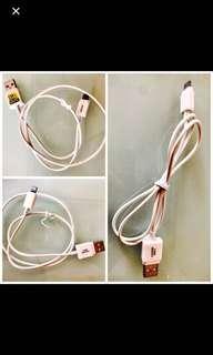 包郵日本買iPhone lightning charging cable 24inch fm Japan 充電缐,24寸included postage 詳見圖details see pic