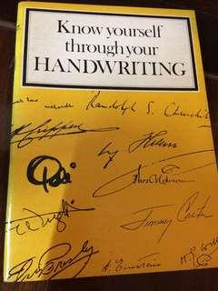 SIM- Know Yourself through your Handwriting