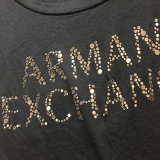 Armani exchange tee tshirt