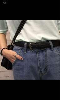 FLASH SALE $9.90 Brand new black minimalist basic belt