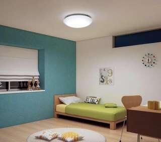 🚚 裝潢燈!日本製Panasonic 國際 LED調光調色遙控吸頂燈